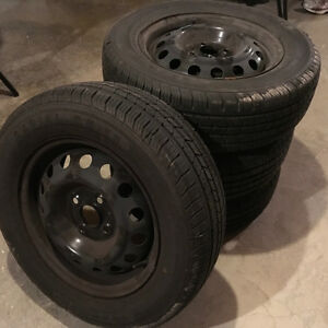Ironman Radial RB-12 Tires for a Hyndai Accent