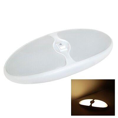 12V LED Deckenlampe Wandleuchte Innenraumleuchte Schalter Wohnmobil Caravanstore