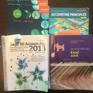 NSCC BUSINESS ADMINISTRATION BOOKS -Accounting Concentration