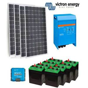 Victron Off Grid Solar Power Kit - 3KVA Inverter Charger | 1000W Shepparton Shepparton City Preview