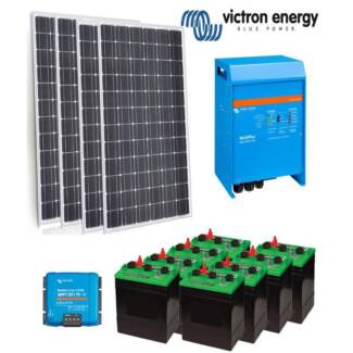 Victron Off Grid Solar Power Kit - 3KVA Inverter Charger | 1000W