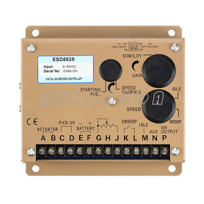 Automatic Speed Controller Esd5525 Generator Electric Governor For Diesel Engine