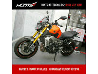 2014 '14 Yamaha MT09 ABS. ASV Levers, R&G Mushrooms, Akrapovic Pipe. £4,995