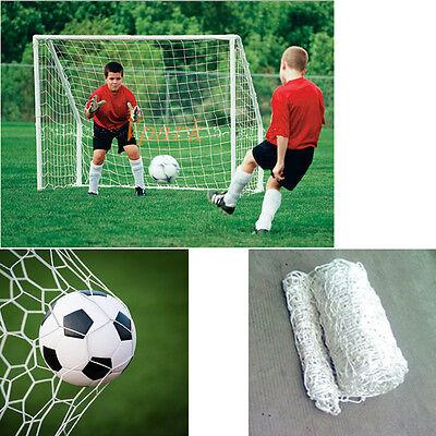 6x4FT Football Soccer Goal Post Net Children Kid Sport Training Practise Net