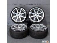 """20"""" New Ex Stock Staggered Ispiri ISR8 for a VW Passat CC, Audi A4 B8 & B9"""