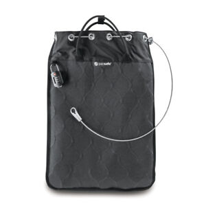 Pacsafe Travelsafe 12L Anti-Theft Portable Safe, BAG,  Charcoal