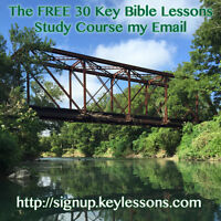 30 Free Email Key Bible Lessons Course