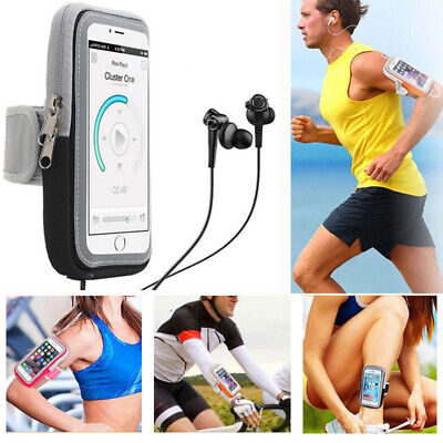 Portable Sport Running Riding Arm Band Case For Cell Phone Holder Zipper Bag Hot