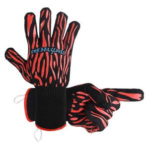 Brand New BBQ Grill Gloves, Aramid Fiber 932°F Heat Resistant Co
