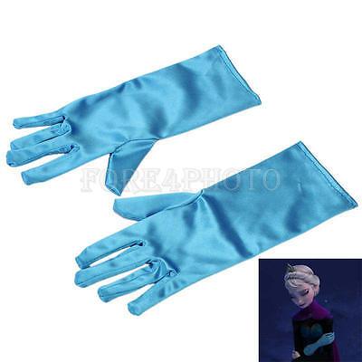 Elsa Ice Queen Girl Gloves Crown Costume Dress for Halloween Christmas Cosplay ](Elsa For Halloween)