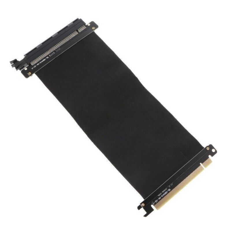 Flexible PCI Express 3.0 16X Cable Extension Port Adapter  High Speed Riser Card