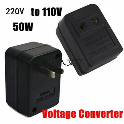 220V To 110V 50W AC Power Voltage Converter Adapter Transformer For US/USA FE