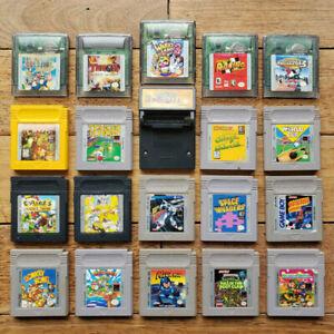 Nintendo Gameboy Original & Color - Jeux / Games