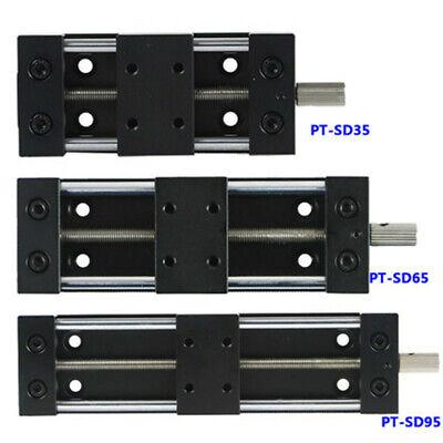 Pt-sd35 Manual Translation Linear Stage Platform Optical Z Axis Sliding Table