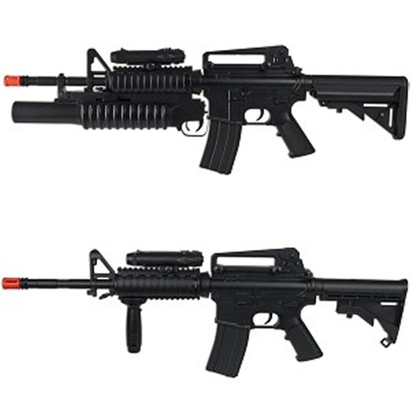 High Power M4 Airsoft Auto Electric Gun Two Style Change & M