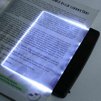LED Book Light Desk Lamps Indoor Reading Night Light Flat Plate Lamp Portable