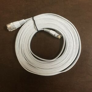 Flat Ethernet Cable, CAT5, 14ft
