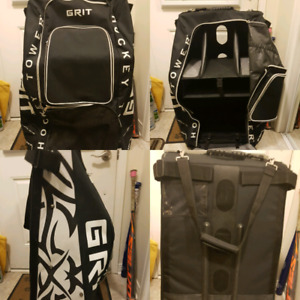 $100 or B.O. Grit Tower Hockey Bag 8/10