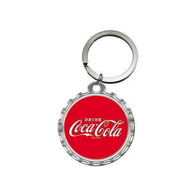 COCA COLA Schlüsselanhänger DRINK COCA COLA Keychain Softdrink Coke NEU OVP