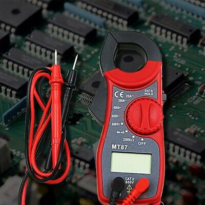 Digital Amper Clamp Meter Multimeter Current Clamp Pincers Voltmeter Ammeter 600