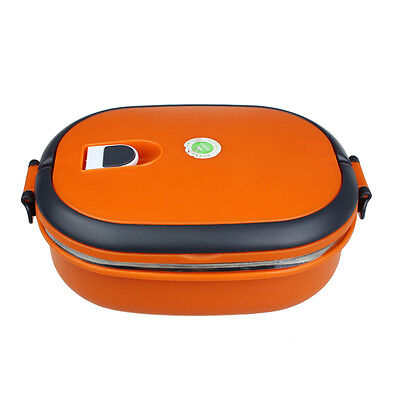 Hot Single Stainless Steel Insulation Lunch Bento Box Food Container Bag OR mt