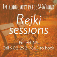 Reiki sessions in Enfield