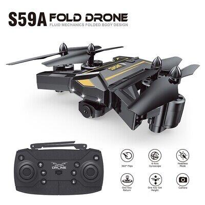 Drone Selfie WIFI FPV 1080P HD Camera/Video Mini Pocket Foldable RC Quadcopter