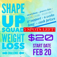 Lose weight with an ONLINE Challenge