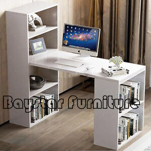 Brand New Office Computer Desk 6 Storage Shelf Bookcase Melbourne CBD Melbourne City Preview