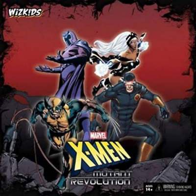 WizKids Board Game X-Men - Mutant Revolution New In Box](Revolution Game)