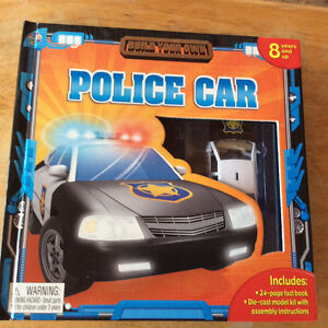 BUILD YOUR OWN POLICE CAR 2008 BY PHIDAL PUBLISHING NEW Gatineau Ottawa / Gatineau Area image 1