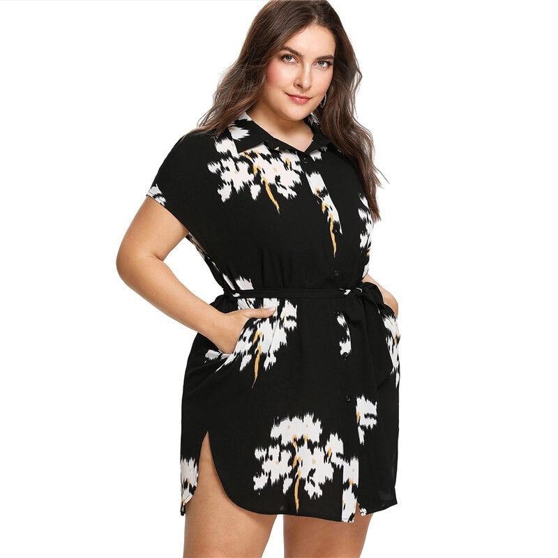 Details About Vestidos Cortos Plus Size Elegantes Para Gorditas Mujer Tallas Grande De Fiesta