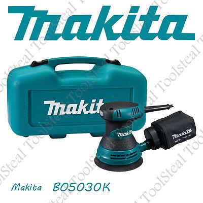 """Makita BO5030K """"A Grade"""" 5"""" Random Orbit Sander w/ FACTORY WARRANTY"""
