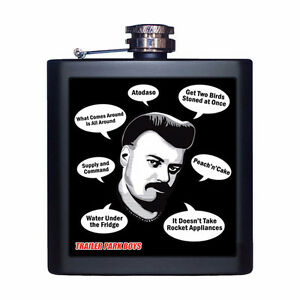 Trailer Park Boys Ricky Quote Flask