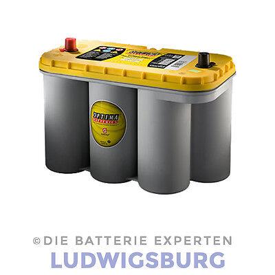 OPTIMA YELLOWTOP AGM Batterie YT R 5.0 Start und Versorgung