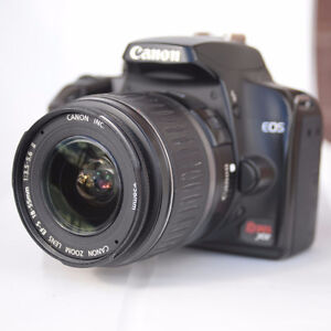Canon DSLR with 2 lenses