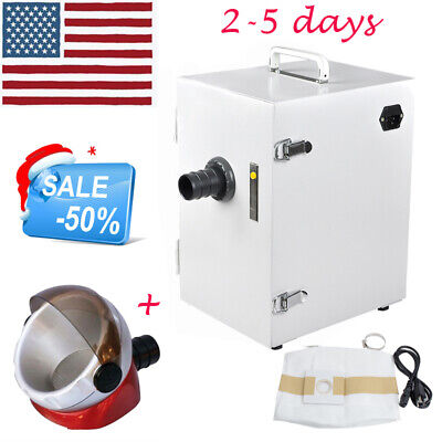 New Dental Lab Digital Dust Collector Vacuum Cleaner Cleaningsuction Base Fdace