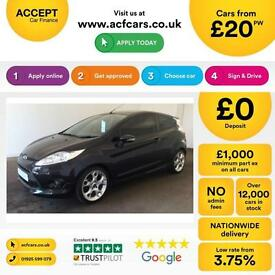 Ford Fiesta 1.6TDCi Zetec S FINANCE OFFER FROM £20 PER WEEK!