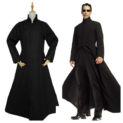 The Matrix Neo Cosplay Costume Thomas Anderson Fancy Dress Halloween Outfits](Neo Anderson)