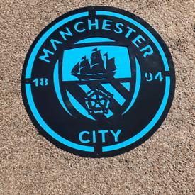 Metal Football Signs Or Logo