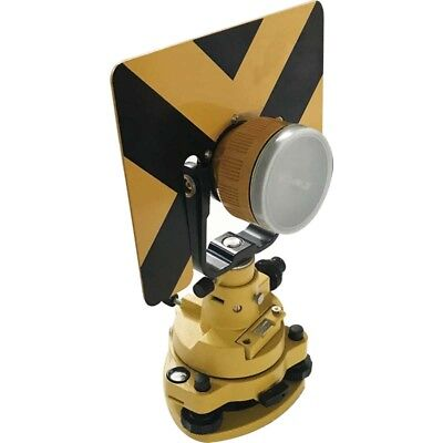 Total Station Survey Traverse Kit Prism Optical Plummet