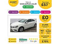 Mercedes-Benz A180 1.5CDI ( 109ps ) Blue F 2013MY SE FROM £57 PER WEEK.