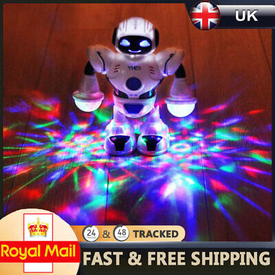 Toys For Boys Kids Music Dancing Robot for 3 4 5 6 7 8 9 10 11 Years Age Gift UK