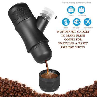 Portable Mini Manual Pressure Coffee Maker Espresso Handheld Coffee Machine New