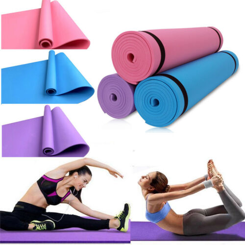 Thick Durable Yoga Mat Non-slip Exercise Fitness Pad Mat Lose Weight Gym Mat