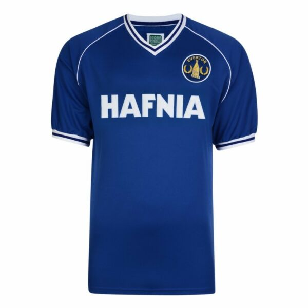 Score Draw Everton 1982 Retro Jersey - Royal Blue (Size L) (BNWT)