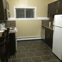 1 Bedroom with heat and hotwater included 685.00