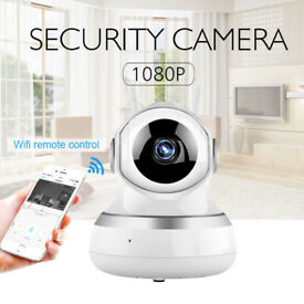WIRELESS WIFI PAN 1080 IP MINI CAMERA INDOOR WITH 2 WAY AUDIO