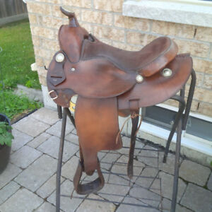 Simcoe Western Saddle Leather
