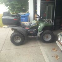 ATV service and repair, motor rebuilding. All makes